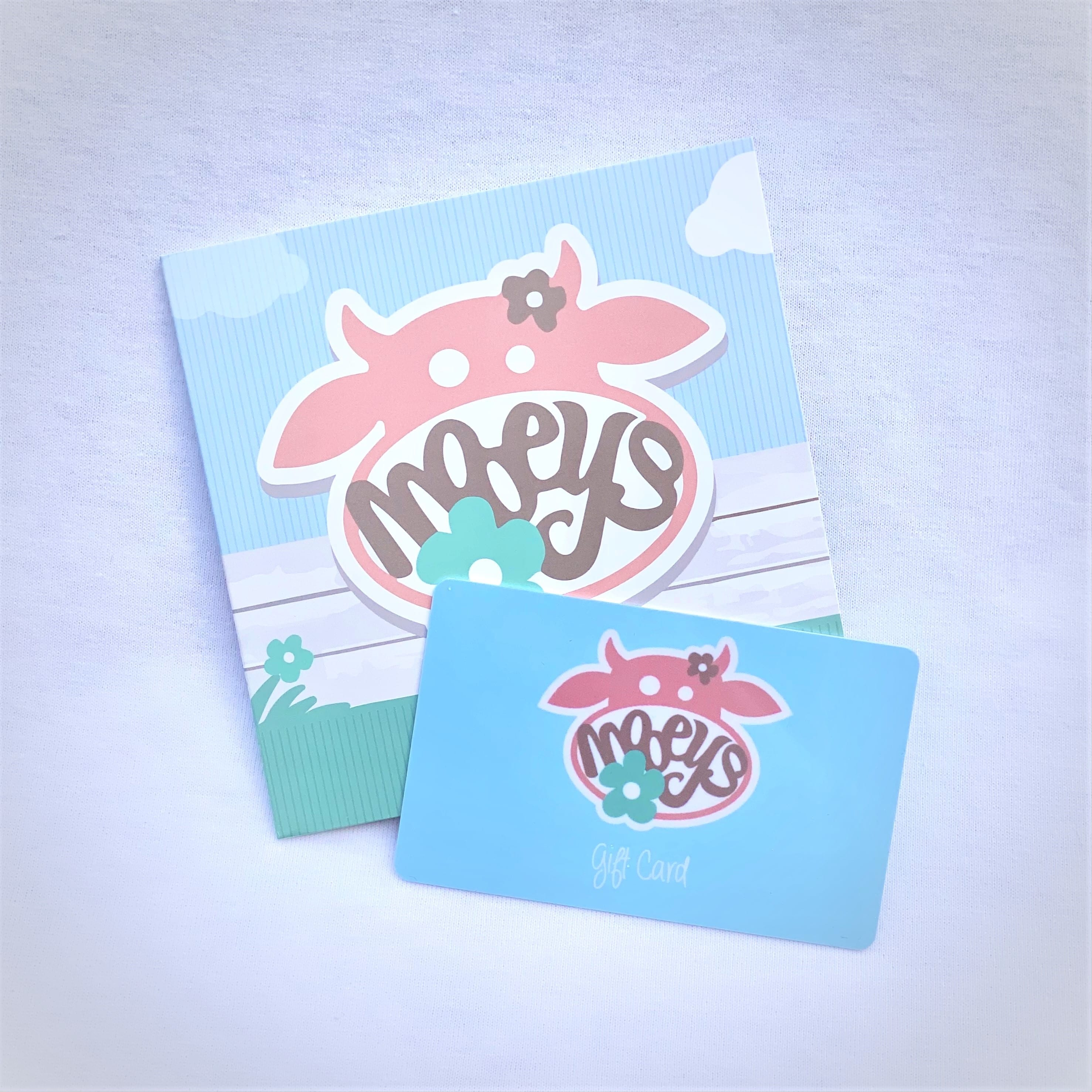 Mooeys Gift Card | The Perfect Present