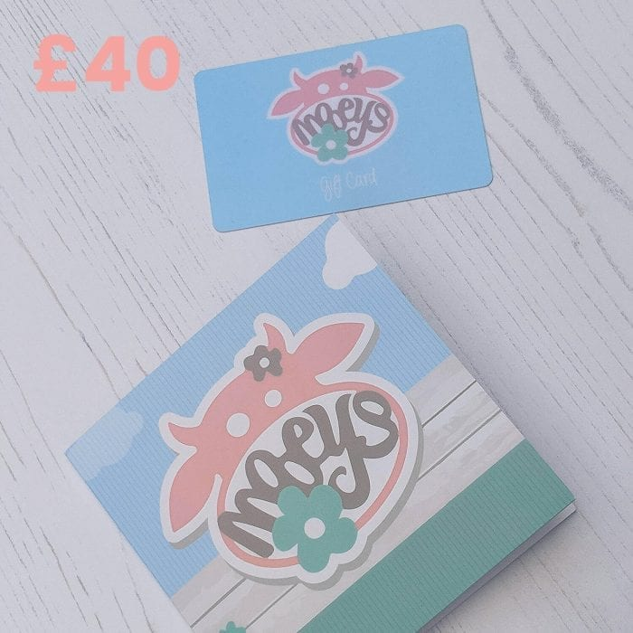 Mooeys £40 Gift Card