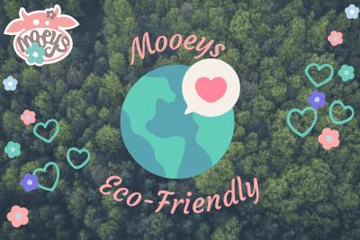 Eco-friendly moo blog