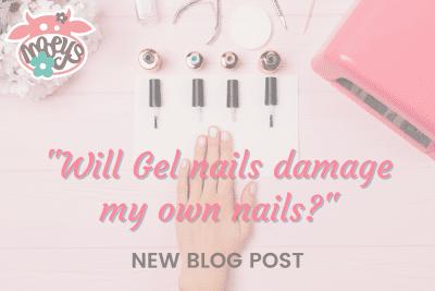 will gel nails damage